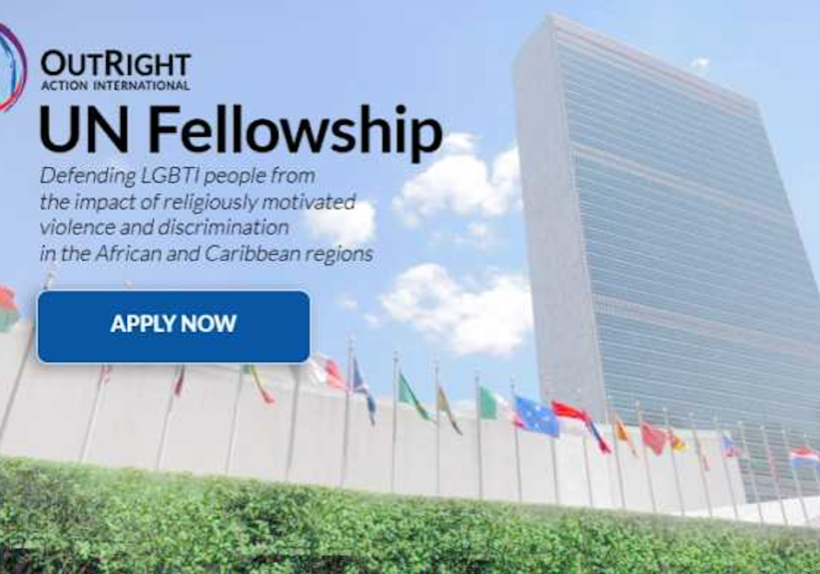 New OutRight UN Fellowship Program