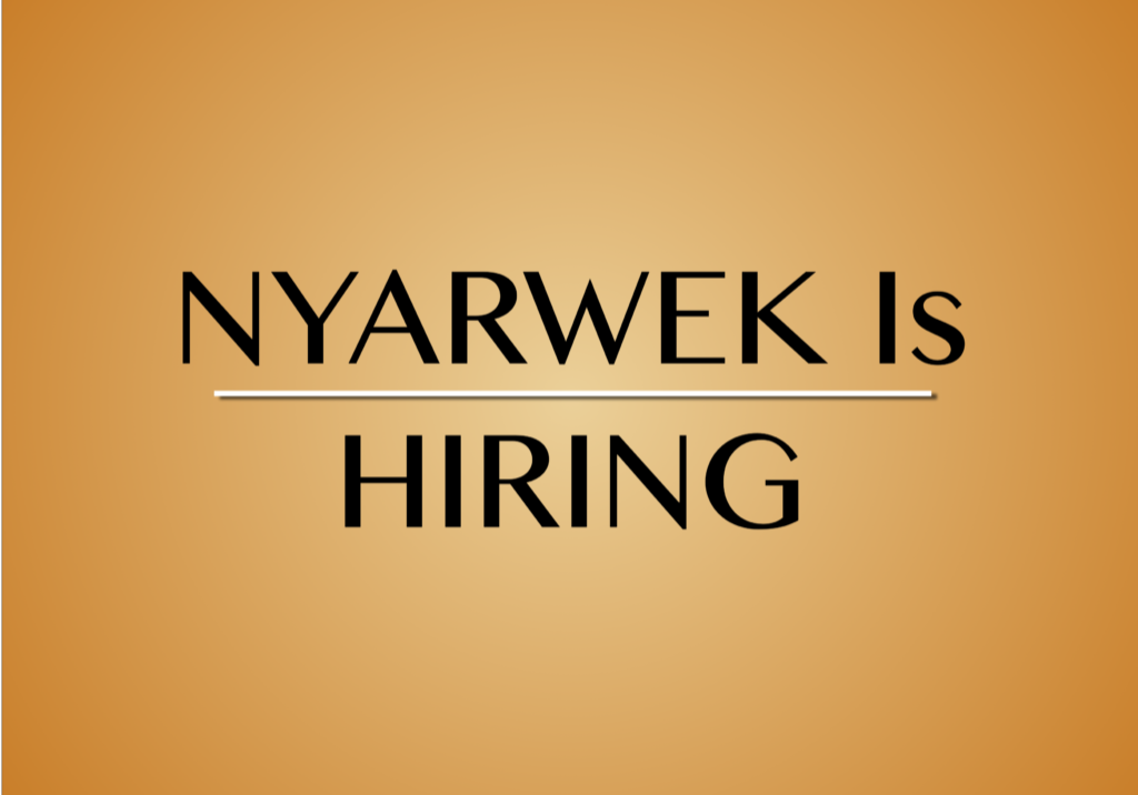 nyarwek vacancy announcement