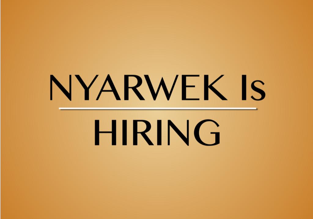 nyarwek vacancy announcement